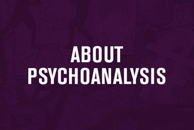 About Pyschoanalysis Menu Link
