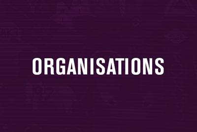 Organisations Menu Link